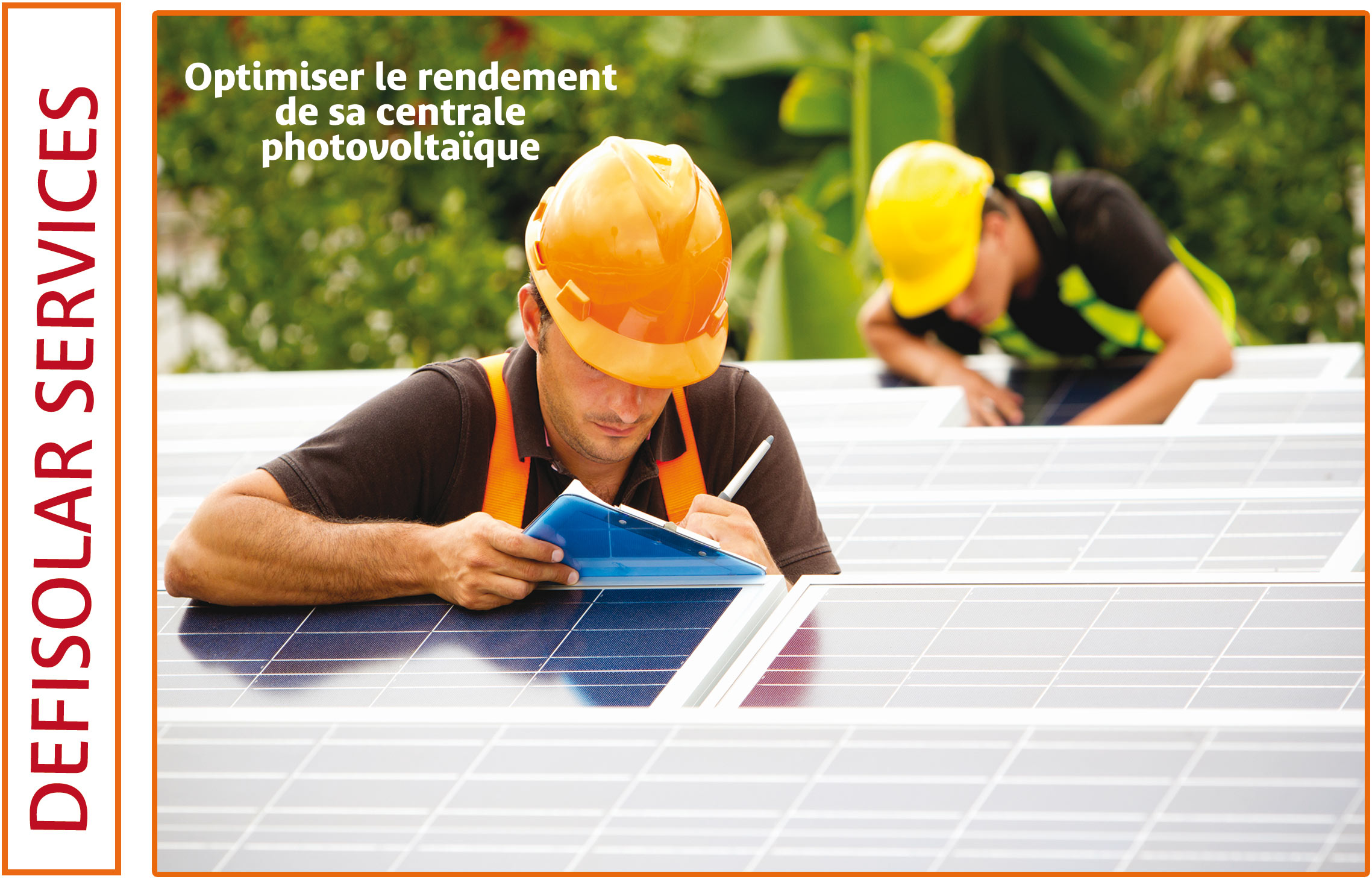 DEFISOLAR Maintenance installation photovoltaique